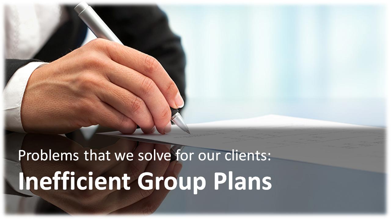 Inefficient Group Plans